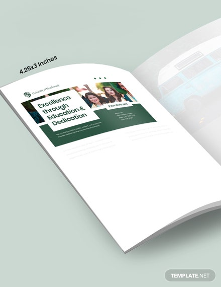 Sample University Magazine Ads