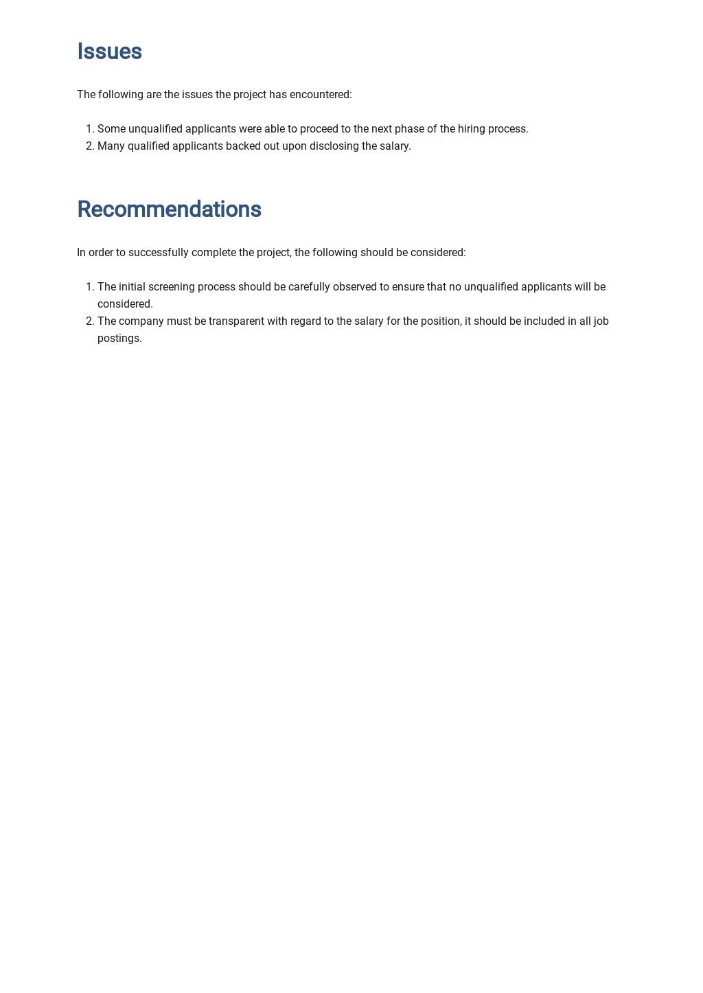 Free Job Handover Report Template 3.jpe