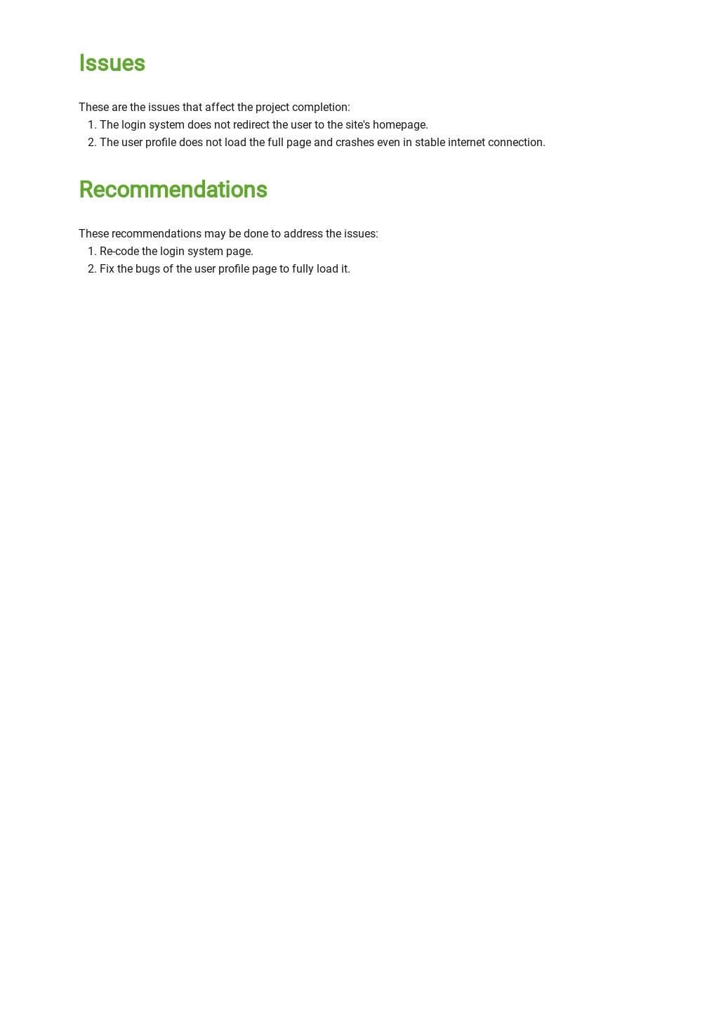 Free Project Handover Report Template 3.jpe