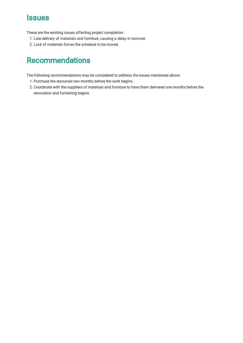 Free Property Handover Report Template 3.jpe