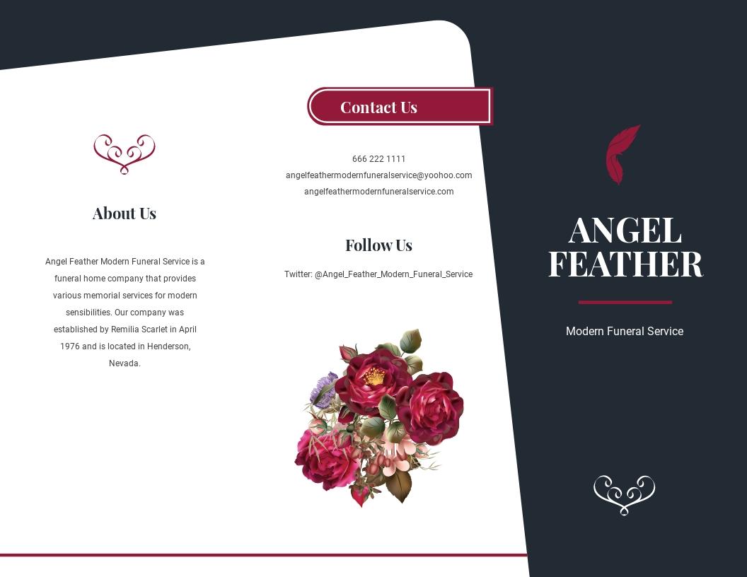 Modern Funeral Memorial Tri Fold Brochure Template.jpe