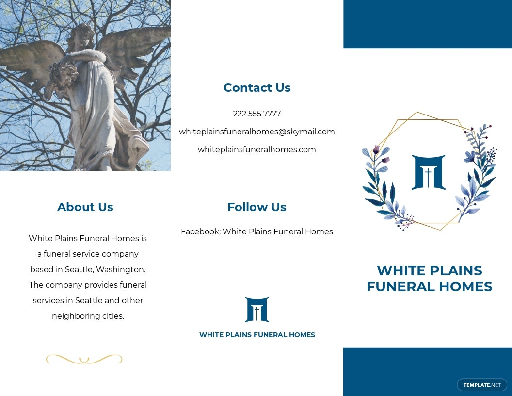 Printable Funeral Home Tri Fold Brochure Template.jpe