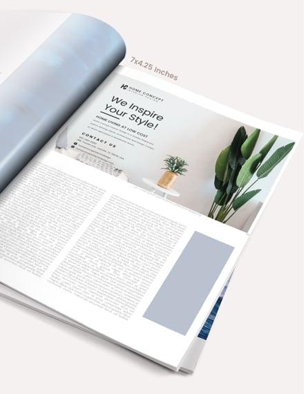 Sample Home And Design Magazine Ads