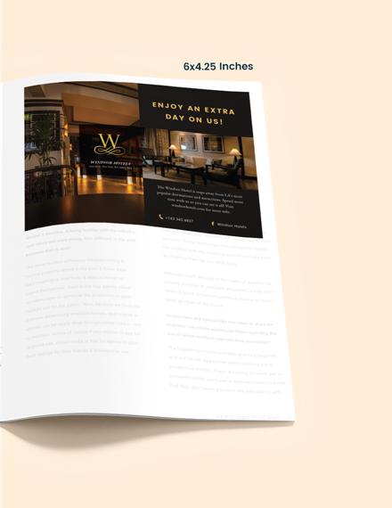 Hotel Magazine Ads Download