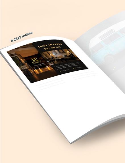 Sample Hotel Magazine Ads