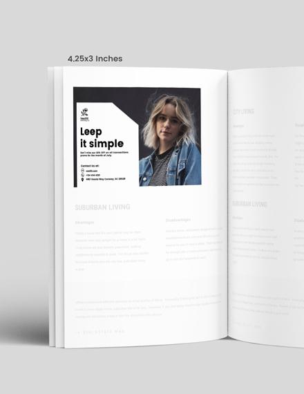 Simple Womens Fashion Magazine Ads