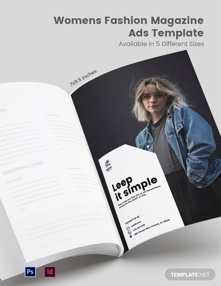 Womens Fashion Magazine Ads