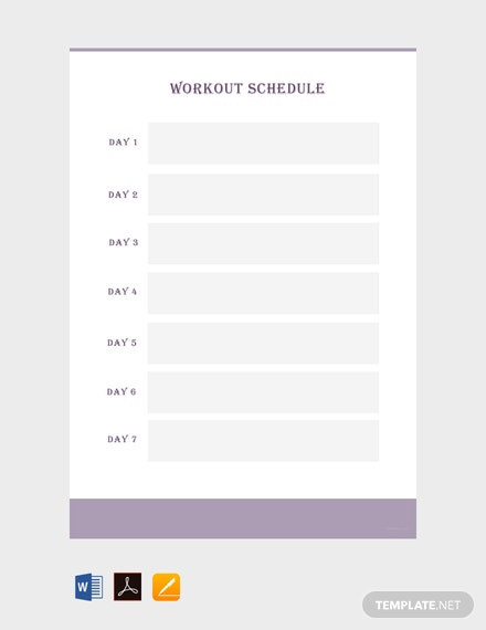 free blank workout schedule template 440x570 1