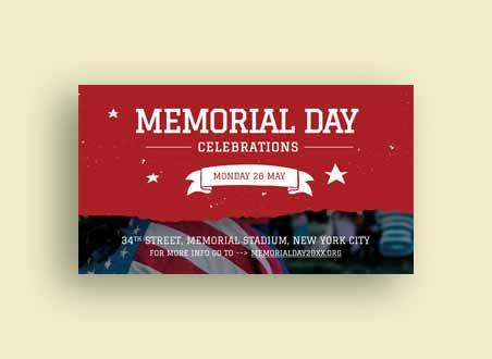 Memorial Day Google Plus Cover Template