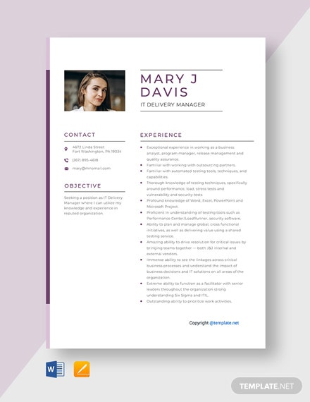 free hipster resume template