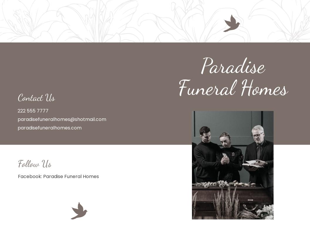 Sample Burial Funeral Bi Fold Brochure Template.jpe