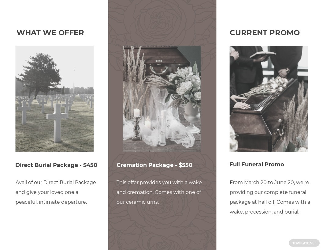 Sample Burial Funeral Tri Fold Brochure Template 1.jpe