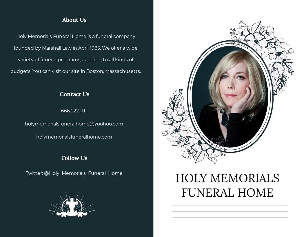 Sample Funeral Memorial Bi Fold Brochure Template.jpe
