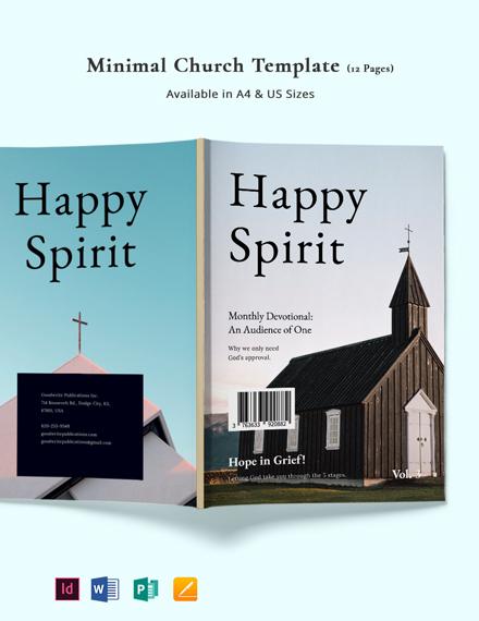 Minimal Church Template