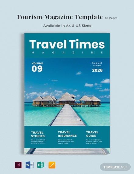 Tourism Magazine Template