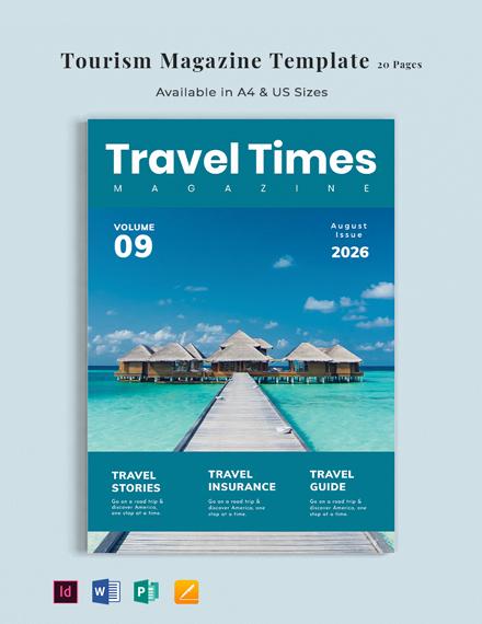 Tourism Magazine Template