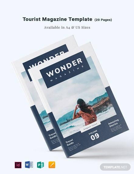 Tourist Magazine Template