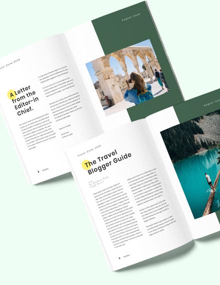Travel Advertising Magazine Download