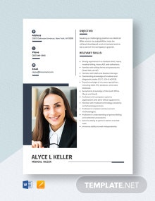 Medical Biller Resume Template