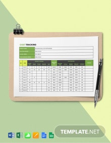 Construction Cost Tracking Template