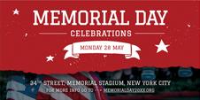 Memorial Day LinkedIn Company Cover Template
