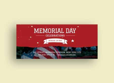 Memorial Day LinkedIn Profile Banner Template