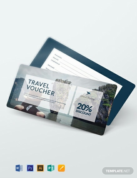 Free Travel Voucher Template