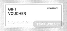 Free Beauty Voucher Template