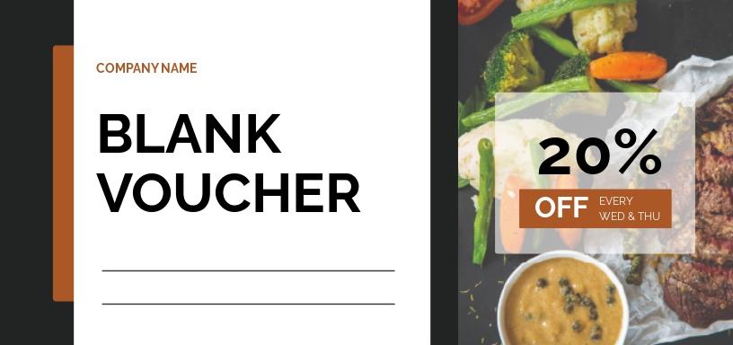 Blank Voucher Template