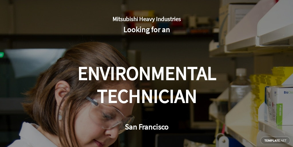 Environmental Technician Job Ad/Description Template