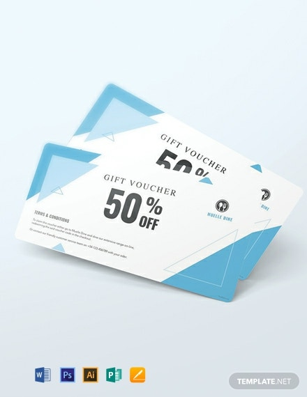Free Discount Voucher Template