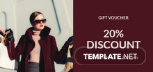 Free Sample Gift Voucher Template