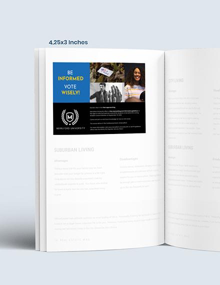 Sample School Campaign Magazine Ads