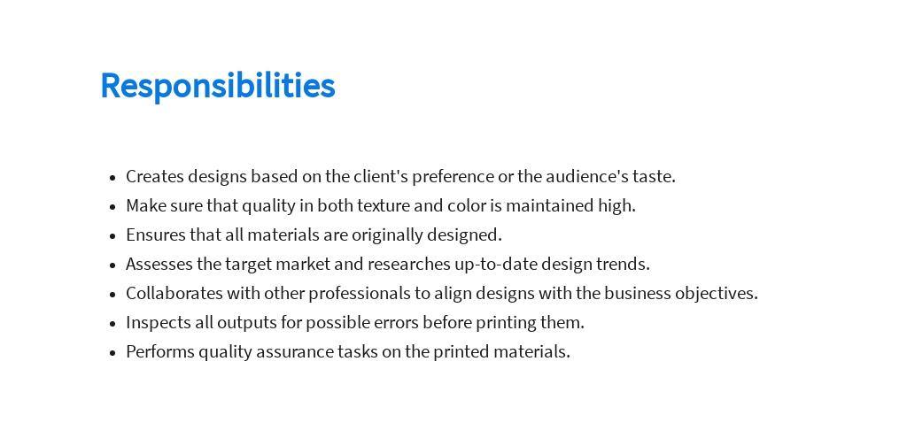 Free Print Graphic Designer Job Description Template 3.jpe