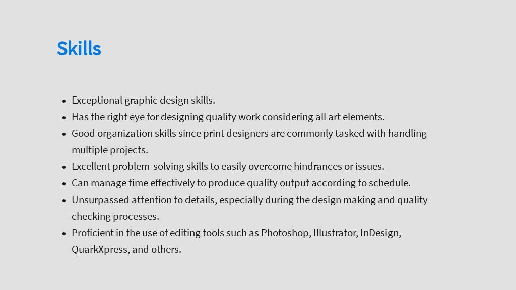 Free Print Graphic Designer Job Description Template 4.jpe