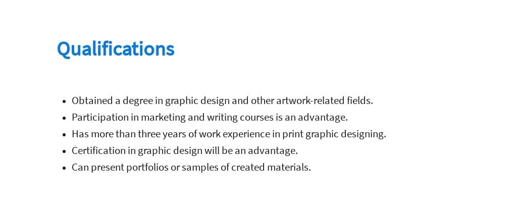 Free Print Graphic Designer Job Description Template 5.jpe