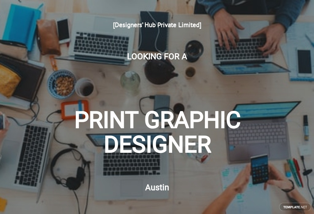 Free Print Graphic Designer Job Description Template.jpe