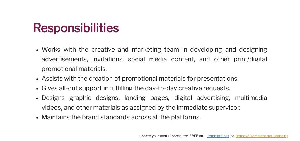 Free Graphic Design Intern Job Description Template 4.jpe