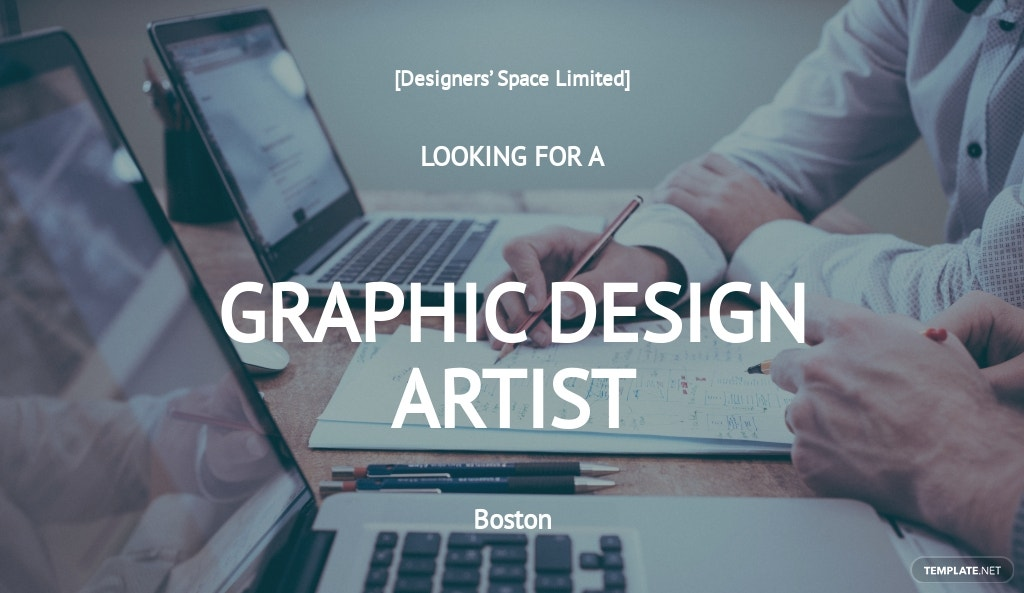 Free Graphic Design Artist Job Description Template.jpe