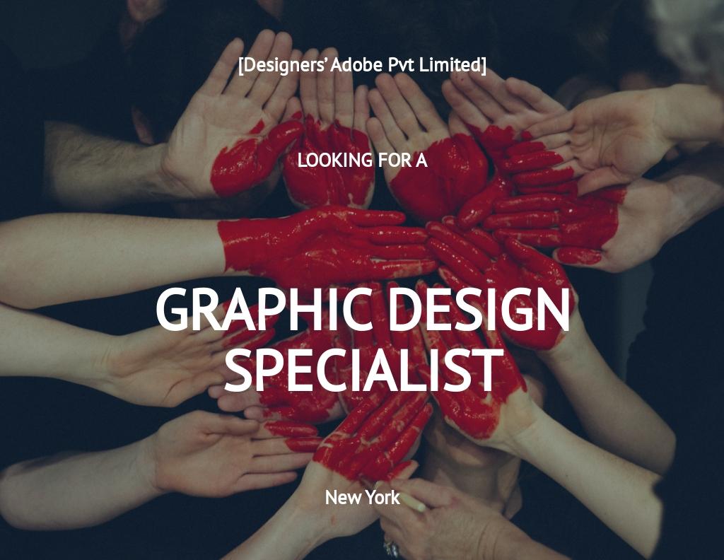 Free Graphic Design Specialist Job Description Template.jpe