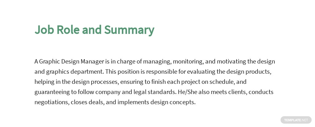 Free Graphic Design Manager Job Description Template 2.jpe