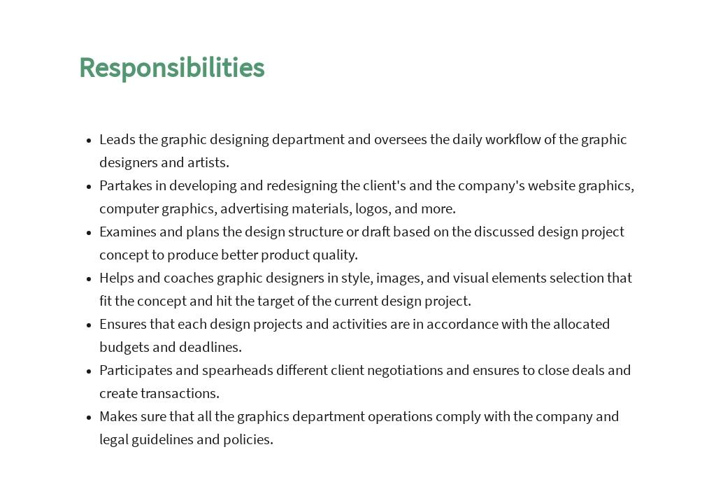 Free Graphic Design Manager Job Description Template 3.jpe