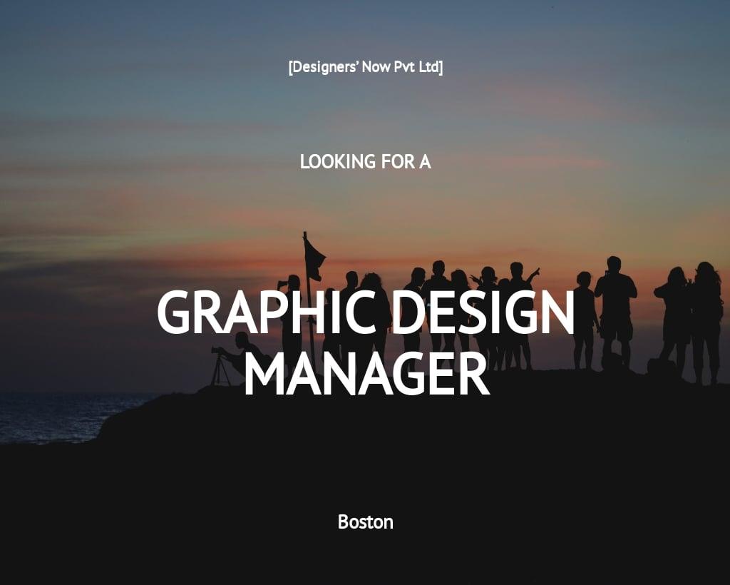Free Graphic Design Manager Job Description Template.jpe