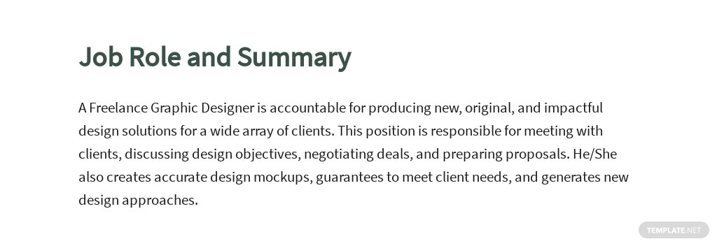 Free Freelance Graphic Designer Job Description Template 2.jpe