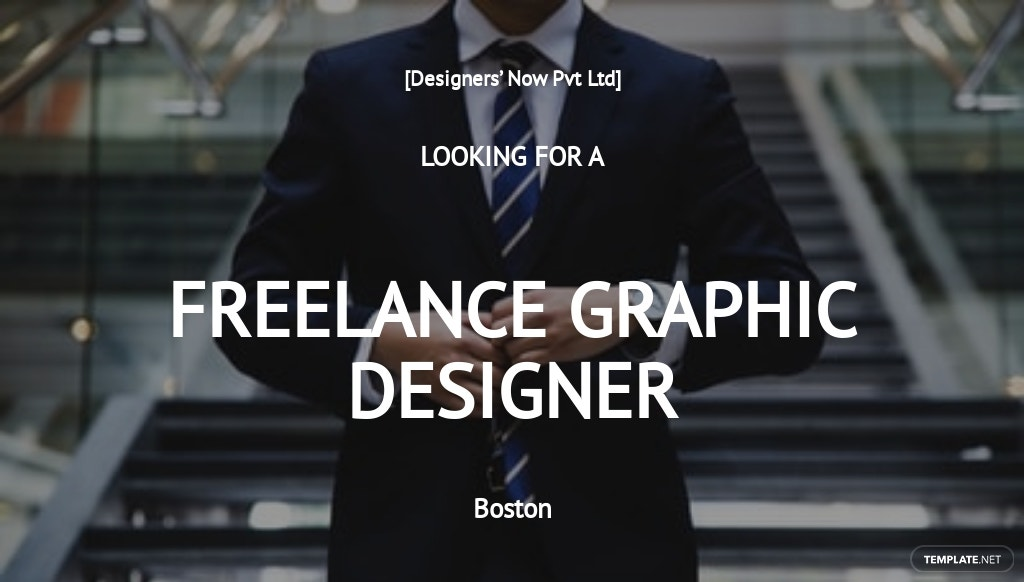 Free Freelance Graphic Designer Job Description Template