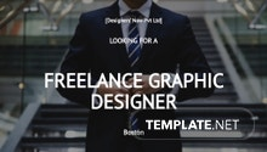 Freelance Graphic Designer Job Description Template