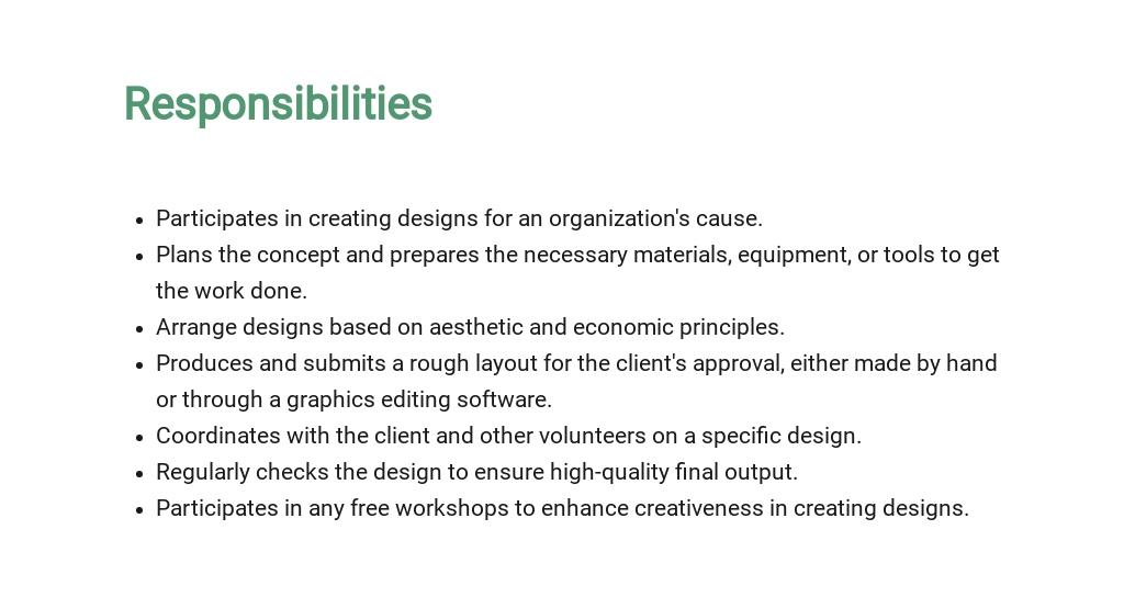 Free Graphic Design Volunteer Job Description Template 3.jpe