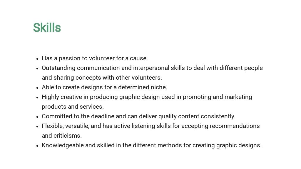 Free Graphic Design Volunteer Job Description Template 4.jpe