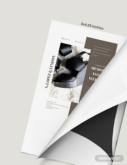 Simple Fashion Magazine Ads Format