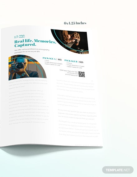 Photographer Princing Magazine Ads Download